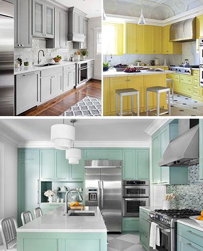 Kitchen Cabinet Colours