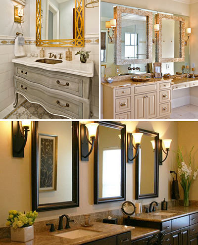Vanity Bathroom Mirrors